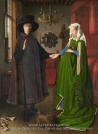 The Arnolfini Marriage by Jan Van Eyck