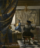 The Art of Painting by Jan Vermeer