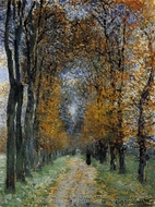 The Avenue painting reproduction, Claude Monet
