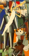 The Aviator by Kasimir Malevich