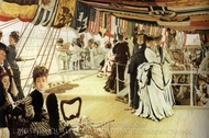 The Ball on Shipboard painting reproduction, James Tissot