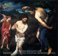 The Baptism of Christ by Paris Bordone