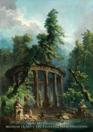 The Bathing Pool painting reproduction, Hubert Robert