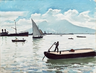 The Bay of Naples by Albert Marquet