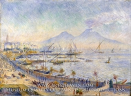 The Bay of Naples by Pierre-Auguste Renoir