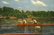 The Biglin Brothers Racing painting reproduction, Thomas Eakins
