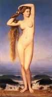 The Birth of Venus (La Naissance de Venus) painting reproduction, Eugene-Emmanuel Amaury-Duval