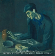 The Blind Man's Meal by Pablo Picasso (inspired by)