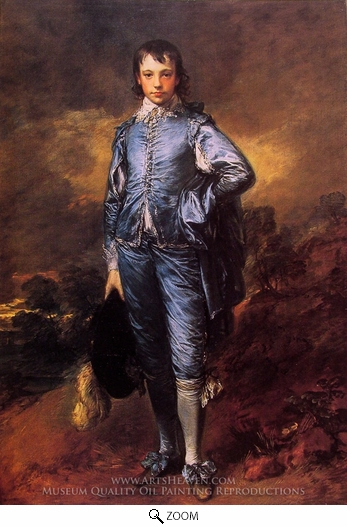 Thomas Gainsborough, The Blue Boy (Jonathan Buttall) oil painting reproduction