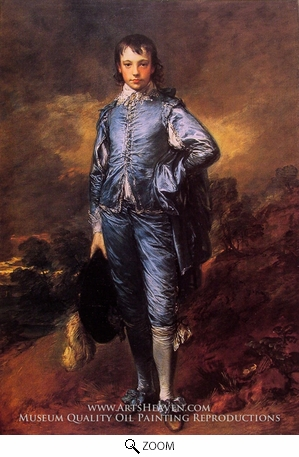 Painting Reproduction of The Blue Boy (Jonathan Buttall), Thomas Gainsborough