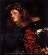 The Bravo painting reproduction, Titian