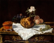 The Brioche painting reproduction, Edouard Manet