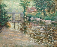 The Bronx River by Ernest Lawson