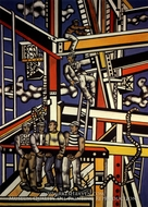 The Builders by Fernand Leger