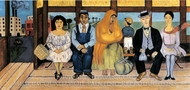 The Bus painting reproduction, Frida Kahlo