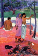 The Call painting reproduction, Paul Gauguin