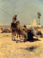 The Caravan painting reproduction, Dudley Hardy