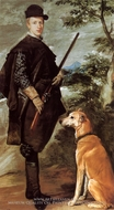 The Cardinal Infante Don Fernando as a Hunter painting reproduction, Diego Velazquez