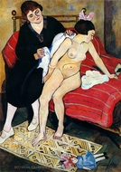 The Cast-Off Doll painting reproduction, Suzanne Valadon