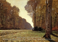 The Chailly Highway by Claude Monet