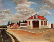 The Chair Factory painting reproduction, Henri Rousseau