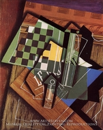 The Checkerboard by Juan Gris