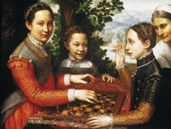 The Chess Game painting reproduction, Sofonisba Anguissola
