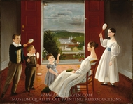 The Children of Nathan Starr painting reproduction, Ambrose Andrews