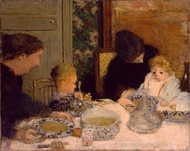 The Children's Meal painting reproduction, Pierre Bonnard