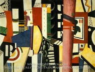 The City by Fernand Leger