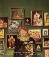 The Collector by Fernando Botero