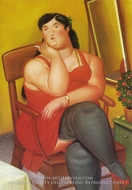 The Colombian-based painting reproduction, Fernando Botero