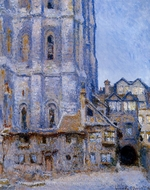 The Cour d'Albane painting reproduction, Claude Monet