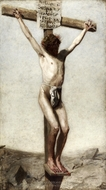 The Crucifixion painting reproduction, Thomas Eakins