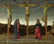 The Crucifixion by Francesco Botticini