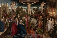 The Crucifixion painting reproduction, Andre d'Ypres