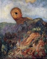 The Cyclops painting reproduction, Odilon Redon