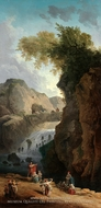 The Dance painting reproduction, Hubert Robert