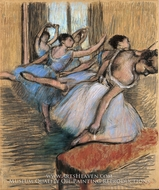 The Dancers by Edgar Degas