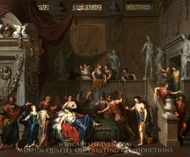 The Death of Cleopatra painting reproduction, Gerard Hoet