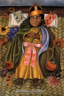 The Deceased Dimas painting reproduction, Frida Kahlo