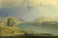 The Delaware Water Gap by George Inness
