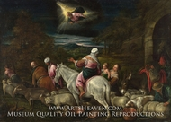 The Departure of Abraham by Jacopo Bassano