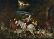 The Departure of Abraham painting reproduction, Jacopo Bassano