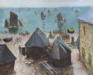 The Departure of the Fleet painting reproduction, Claude Monet