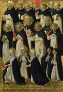 The Dominican Blessed painting reproduction, Fra Angelico