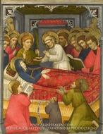 The Dormition of the Virgin painting reproduction, Tyrolese