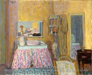 The Dressing Room by Pierre Bonnard
