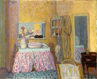 The Dressing Room painting reproduction, Pierre Bonnard