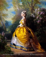 The Empress Eugenie by Franz Xavier Winterhalter